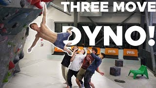 THREE MOVE DYNO! || SCHOOLED BY MAGNUS MIDTBØ