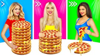 Slow, Medium or Fast Food Challenge! | Epic Food Battle by RATATA