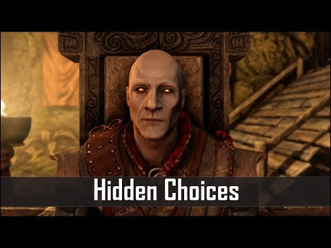 Skyrim: 5 Secret Choices You Didn't Know You Had in The Elder Scrolls 5: Skyrim