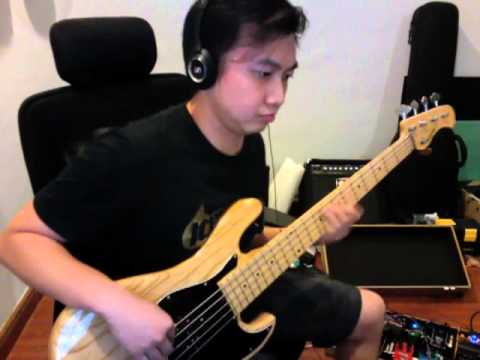 Suit N Tie Bass Cover