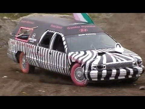 2010 Gander Demolition Derby Big Car Heat Youtube