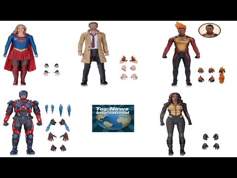 """New DC Collectibles 7"""" Flash, Arrow, Supergirl & DC Legends Of Tomorrow TV Series Figures Revealed"""