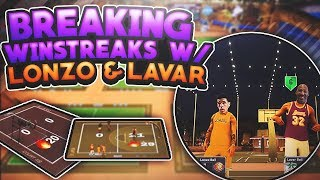 BREAKING HIGH WINSTREAKS W/ LONZO & LAVAR BALL! THE GREATEST COLLAB OF ALL TIME! NBA 2K17