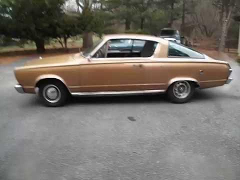 2016 Dodge Barracuda >> 1966 Plymouth Barracuda Survivor 273 V8 Runs and drives ...