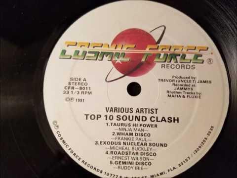 Ninjaman - Taurus Hi Power - Cosmic Force LP - 1991