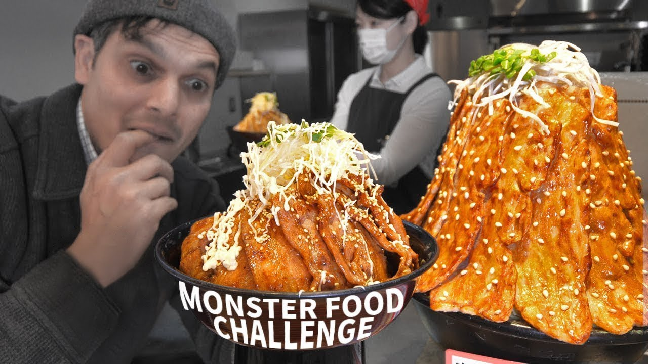Japanese Highway Food Challenge ★ ONLY in JAPAN