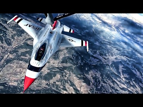U.S. Air Force Thunderbirds Inflight Refueling