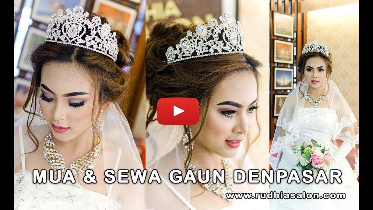 Jasa MUA Rias Pengantin Modern & Sewa Gaun Bridal di Denpasar