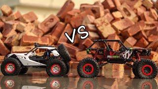 HB Rock Crawler Vs WLTOYS - Tug Of War - Part 2