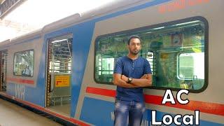 DADAR to VIRAR | Mumbai's First AC Local Train on Western Railway | Journey Experience