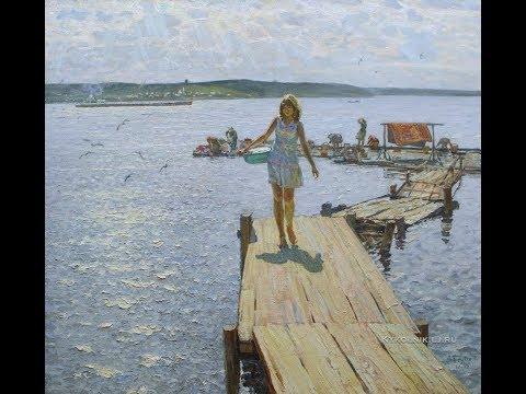 Михаил РОЖКОВ (балалайка), Георгий МИНЯЕВ (гитара)  - Течёт река Волга