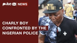 #ResumeorResign: Charly Boy Confronted By Nigeria Police During Protest | Pulse TV News