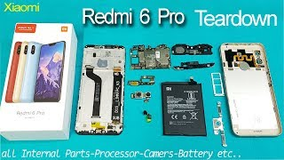 Xiaomi Redmi 6 Pro Teardown || Disassembly || all internal Parts || How to open Redmi 6 Pro