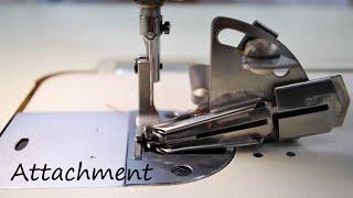縫製工場が使う ミシンアタッチメント Sewing attachments (Bias, Flatlock binder etc)
