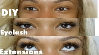 FAST, EASY DIY Eyelash Extensions