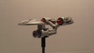 Build Your Own Lego Starship Enterprise Microbuild...with Bionicle Parts!!!