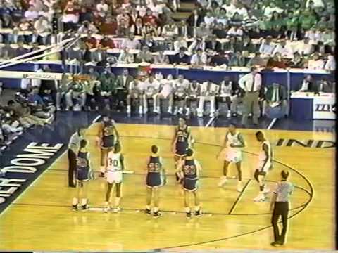 1990 Indiana High School Basketball Final (Entire 4th Quarter)