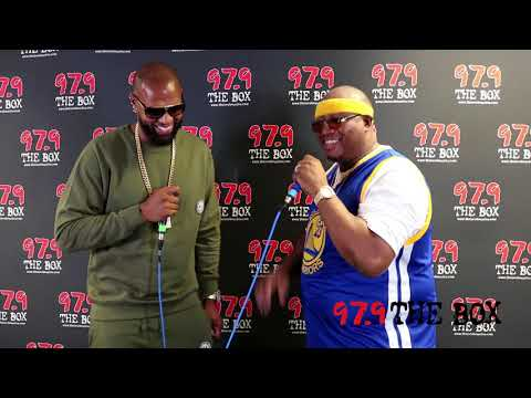 EXCLUSIVE: Slim Thug Interviews E-40 Backstage At 97.9 The Box's H-Town West Fest!