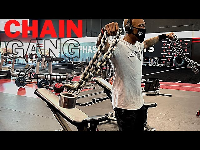 ABT- Athletic Based Training: Chain Gang   Upper Body Training Program with Chains
