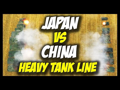 ► World of Tanks: Japan vs China - Heavy Tank Line - Tier 1 to Tier 10 - Face Off #18