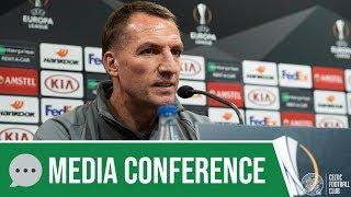 💬 Full Europa League Media Conference: Brendan Rodgers (20/02/19)