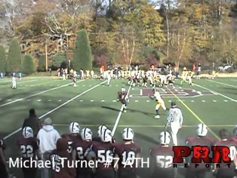 Michael Turner - Boys Latin #7 Varsity Football Highlights 2010