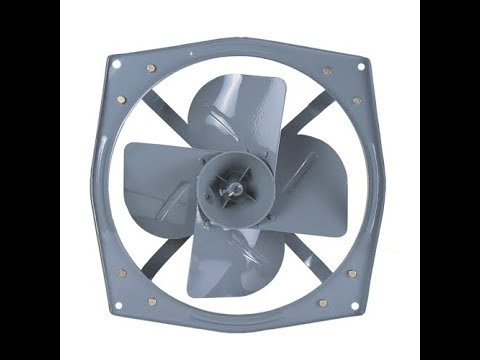 Un Boxing Of Crompton 18 Inch Exaust Fan Youtube
