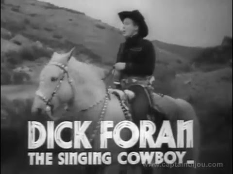 1936 DEVIL'S SADDLE LEGION TRAILER - Dick Foran, Anne Nagel