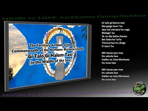 Northern Mariana Islands Territory Anthem INSTRUMENTAL with lyrics