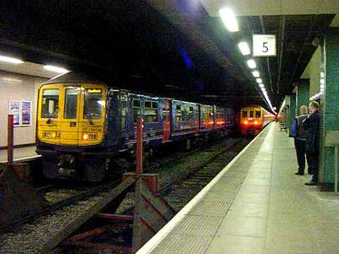 Last train from Moorgate Thameslink