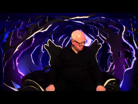 Ken Morley is ejected from the Celebrity Big Brother House
