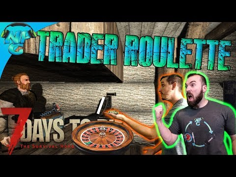 Trader Roulette - Hitting the Secret Stash Jackpot for a Shiny New Auger! 7 Days to Die E39