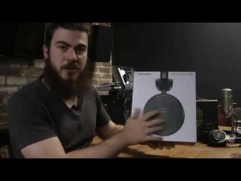 Audio-Technica M-Series | ATH-R70x Unboxing