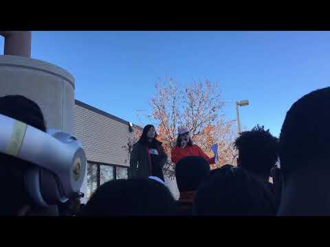 Osseo Senior High School Walk-Out, 03.14.18