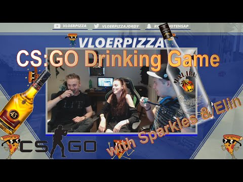 CS:GO - Drinking Game With Sparkles & Elin