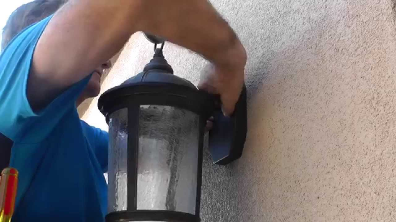 How To Install Outdoor Light Fixtures