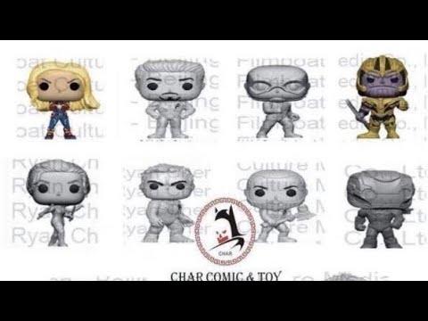 Avengers Endgame funko pops leaked