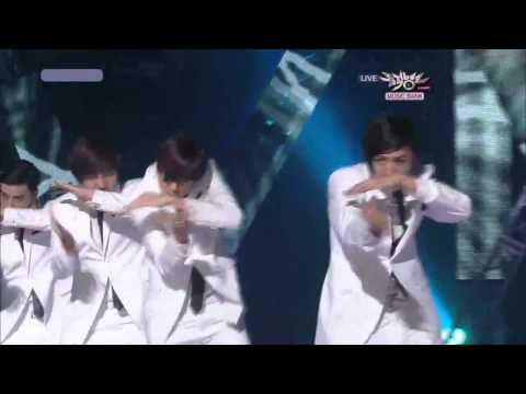 101008 U Kiss - Before Yesterday Shut Up (comeback stage) Live at Music Bank HD
