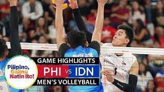 HIGHLIGHTS FINAL Voli Putra Indonesia Vs Filipina   SEA Games 2019   Perebutan Medali Emas!