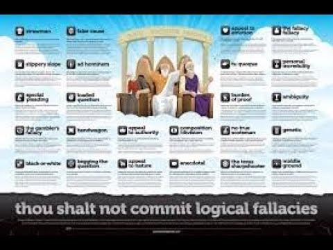 Logic Fallacies For Dummies.