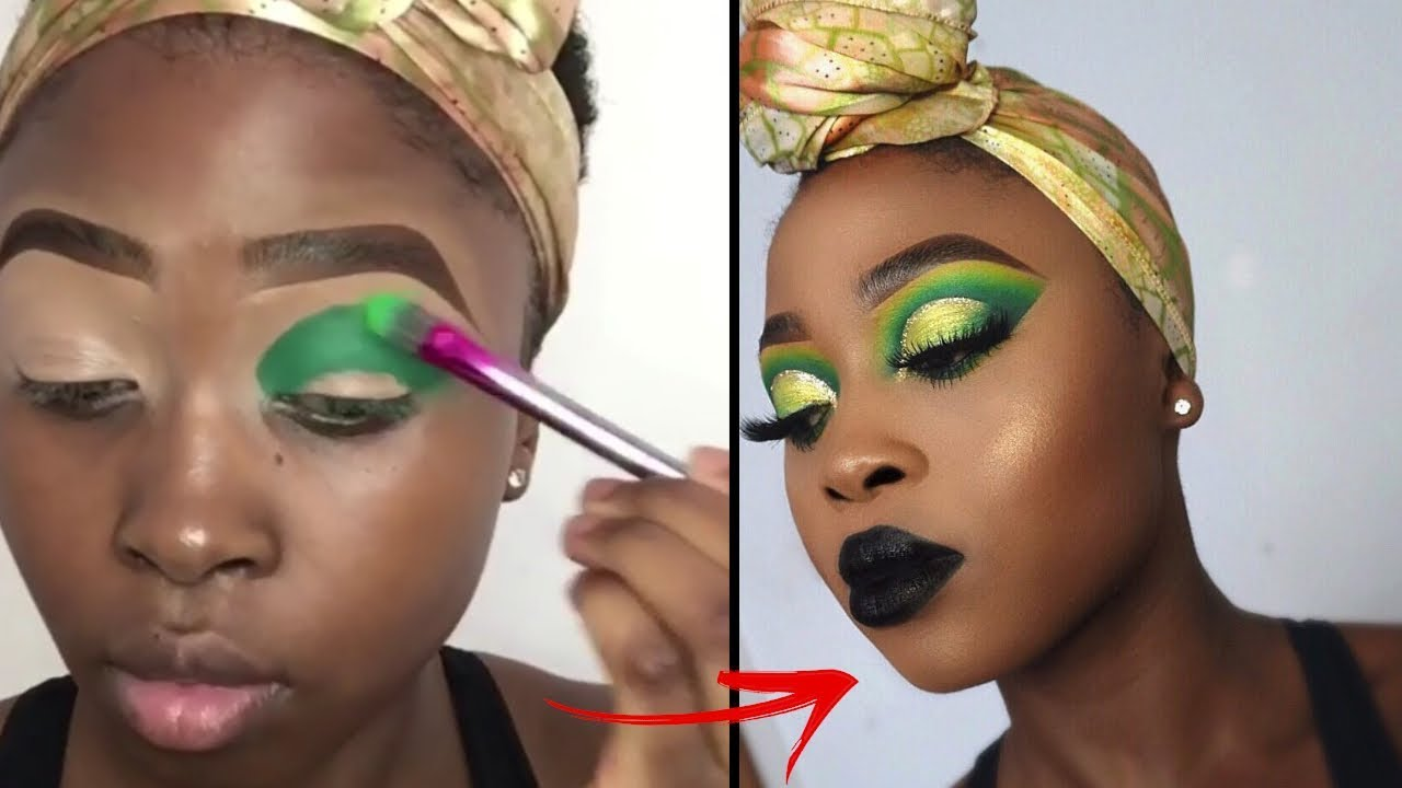 BEFORE AND AFTER MAKEUP TRANSFORMATIONS COMPILATION | BEST TOP EYE MAKEUP TUTORIAL 2019