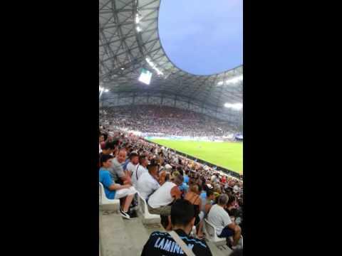 Ambiance  stade  vélodrome  Marseille