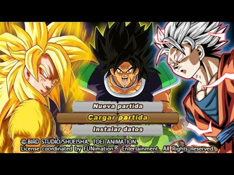 NEW DBZ TTT MOD BT3 ISO + MENU With Golden Goku, One Punch Man And DBS Broly DOWNLOAD - 동영상