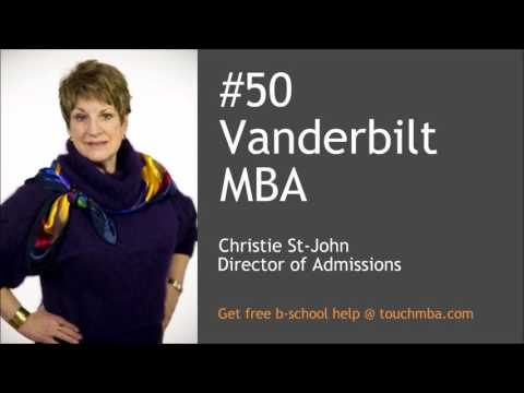 Vanderbilt MBA Admissions Interview with Christie St-John - Touch MBA Podcast