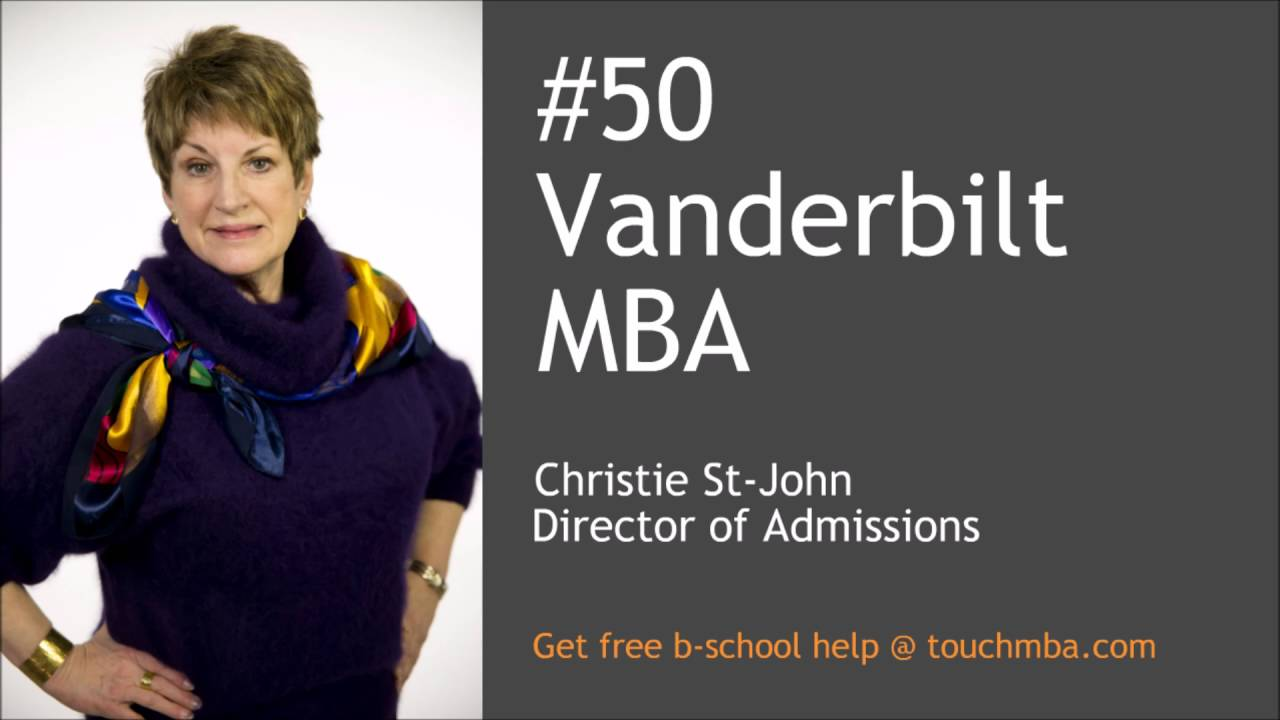 vanderbilt mba essays Business school is a significant investment in your personal and professional development, however a vanderbilt mba is an investment worth making we are committed to helping students afford the vanderbilt mba program by offering scholarships and low-interest loan opportunities.