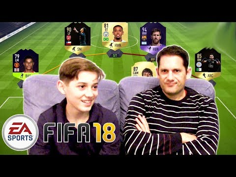 Fifa 18 FUT DRAFT!  Father and Son Fifa 18 Gameplay