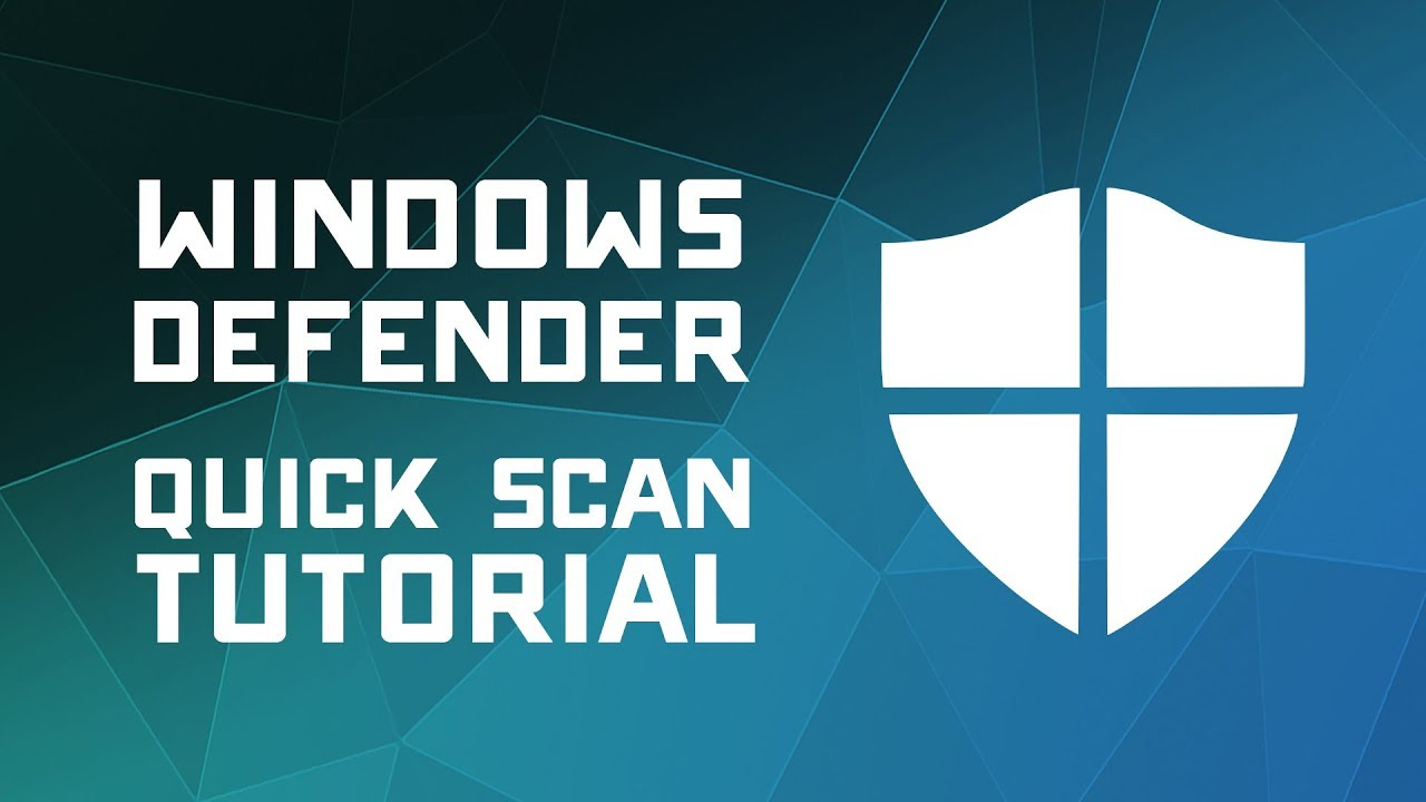 How to Scan for Viruses with Windows Defender - Windows 10 Tutorial