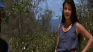 Kelly Hu Entertains the Troops