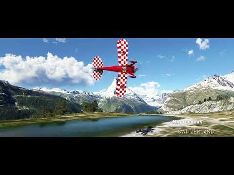 Microsoft Flight Simulator Germany, Austria, Switzerland World Update Teaser   gamescom 2021