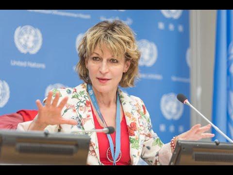 """مقررة الأمم المتحدة تكشف لـ""""أخبار الآن"""" تفاصيل سلوك إيران بقضية الطائرة الأوكرانية  - 22:59-2021 / 2 / 27"""